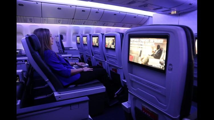 Delta International Style Premium Economy On Most Europe