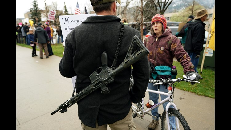 An Illinois judge has temporarily blocked the Chicago suburb Deerfield from implementing an assault weapons ban that the village passed in the aftermath of the Parkland, Fla., school shooting that left 17 dead.