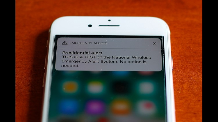 Why you will receive a presidential text message today
