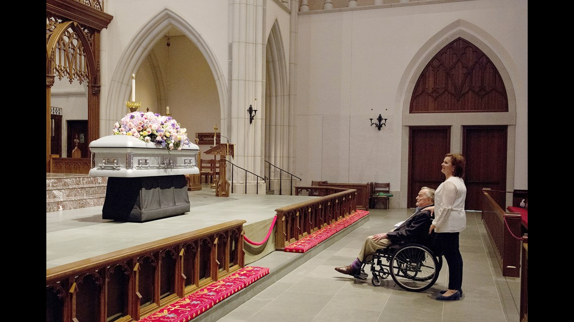 George HW Bush State Funeral Former President To Be