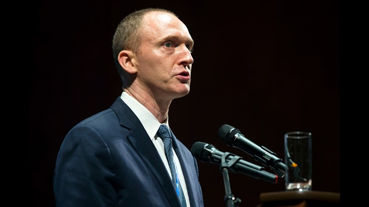 Carter Page says claims that Russians tried to recruit him are 'ridiculous'