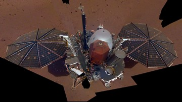 NASA's InSight lander snaps first selfie from Mars