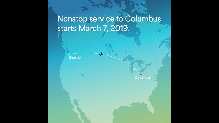 Alaska Airlines adds Ohio to its route map, announces Seattle ...