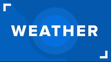 First Alert Forecast: Cooler temps sticking around, chances of rain throughout week
