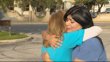 Mom of missing autistic son meets woman who helped find him