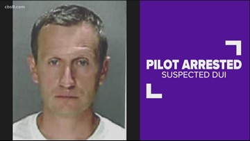 Delta pilot kicked off plane and arrested after failing sobriety test before flight to San Diego