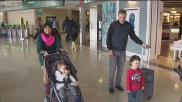 San Diego family returns home after being separated, quarantined at Travis Air Force Base
