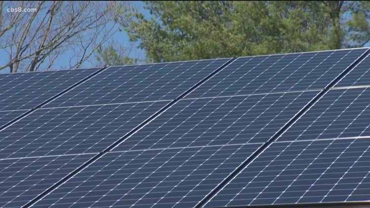 Solar energy supporters rally against AB 1139, they say the bill would rollback green energy
