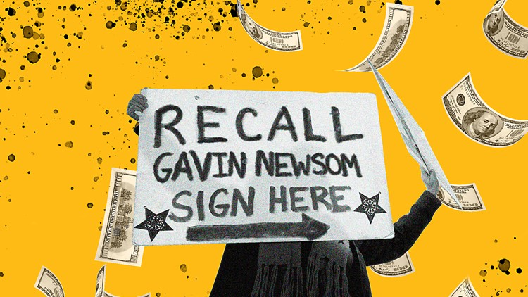 Recall backers raise more, but Newsom's side has more cash in the bank
