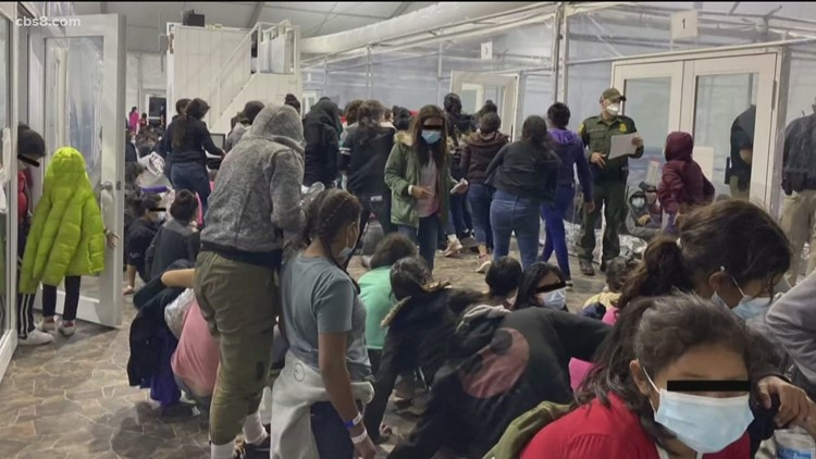 Preparations underway at San Diego Convention Center for unaccompanied minors arrival