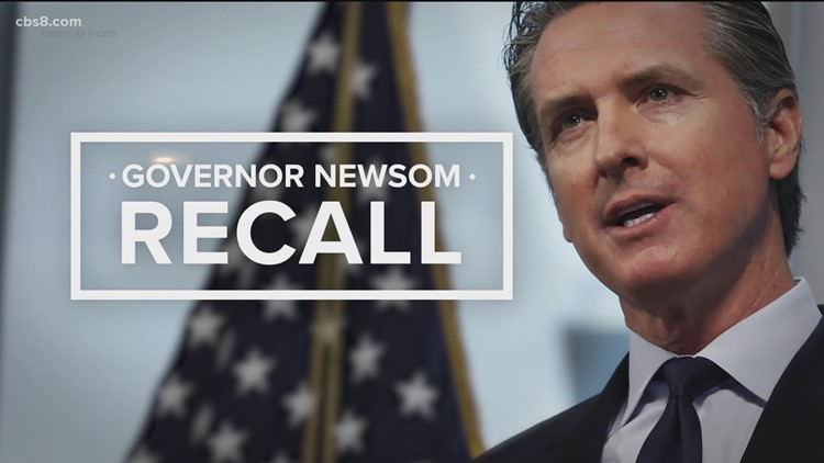 First look at Governor Newsom recall election ballot