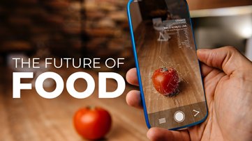 Food in 2030: More plant-based meat & seafood, 3D printed dishes