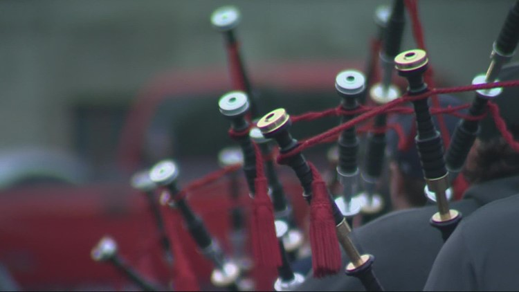 'We're passing on a legacy': Portland Firefighters Pipes and Drums band is thriving