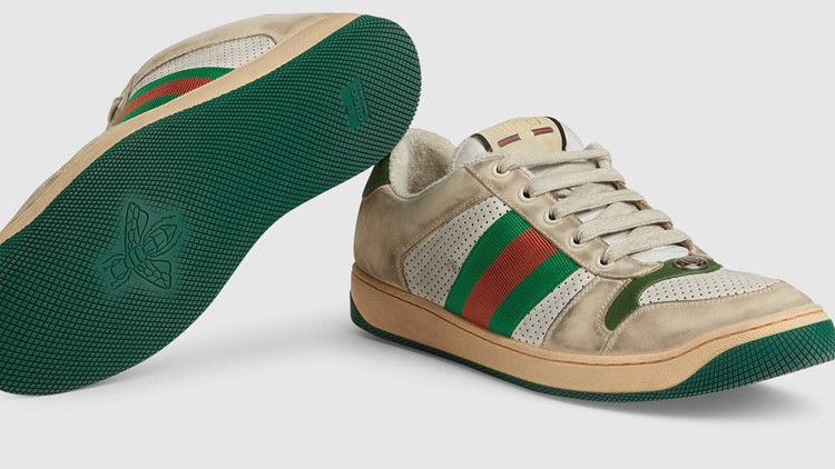 Gucci's Screener leather trainers