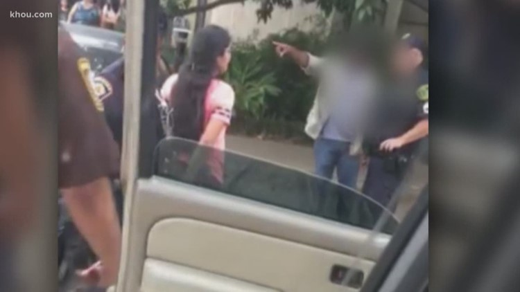 Woman arrested after fight over saved parking spot near Houston museum
