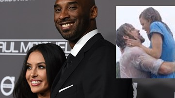 Kobe bought Vanessa the actual blue dress from 'The Notebook'