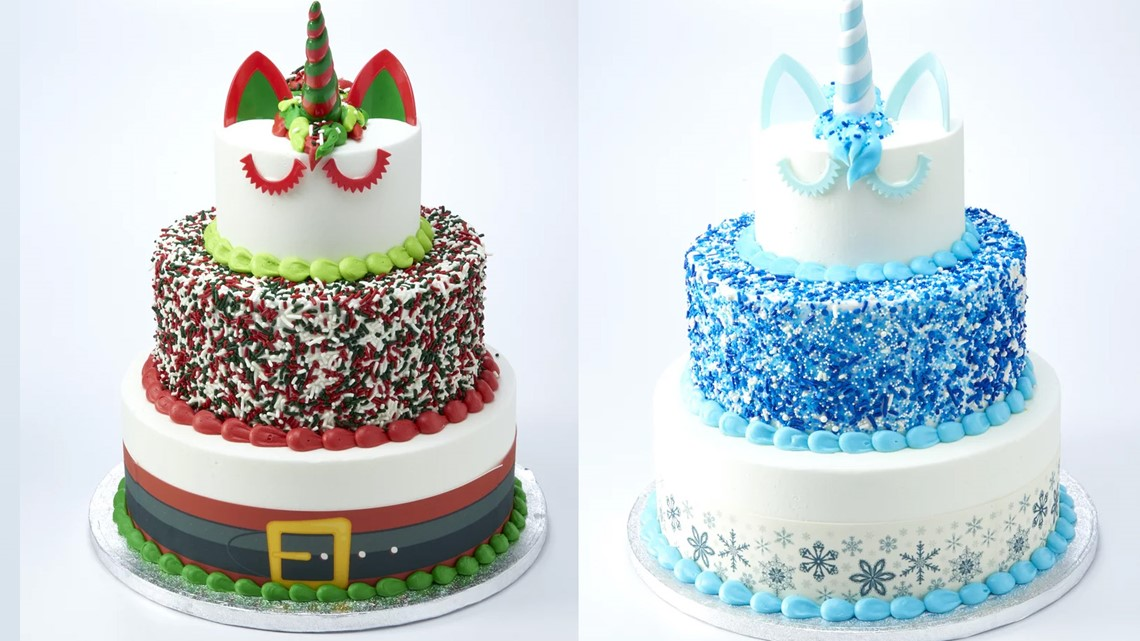 Sam S Club Has Holiday Unicorn Cakes That Feed 66 People