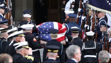Complete program for funeral of George H.W. Bush
