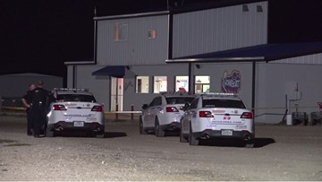 Man tries to rob Houston drive-in movie employees with a bat, gets shot and killed
