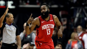 Houston Rocket's James Harden gives family $10,000 after seeing them fishing for food