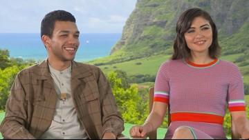 Two new stars of 'Jurassic World: Fallen Kingdom' talk Hawaii and working with Chris Pratt