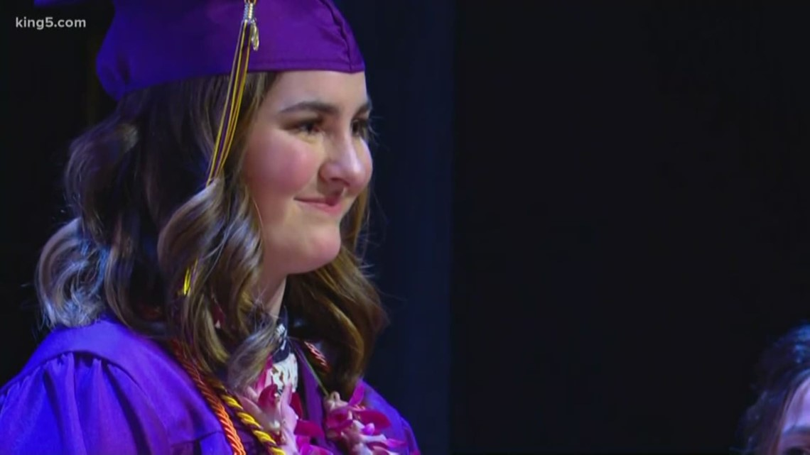 Special graduation held for Washington teen diagnosed with cancer