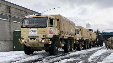 National Guard prepares to rescue North Bend residents after heavy snowfall