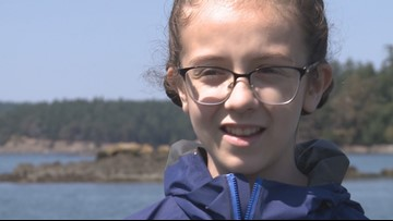 12-year old Washington girl fights to save endangered orcas