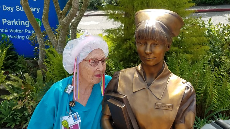 Nurse SeeSee turns 94
