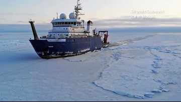 Study finds disturbing climate change evidence in Arctic Ocean