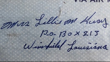 Family searching for authors of mystery love letters found inside vintage Army trunk in Seattle home