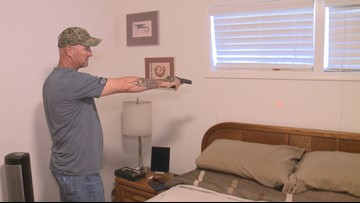 'Thought I was going to have to drop someone in my house': Phoenix man wakes up to intruder in home