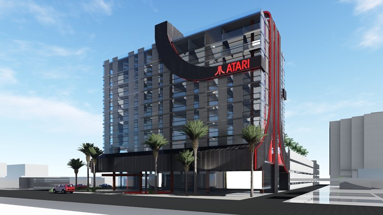 Video game-themed Atari Hotel planned for downtown Phoenix