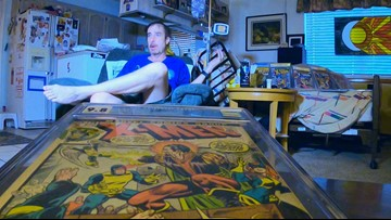 Arizona man auctioning world's top rated X-Men comic book collection to pay for cancer treatments
