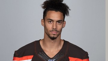 He snuck his way into a tryout with the Browns, and now he's sticking around