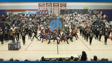 Arizona high school dance team's Marvel-themed performance goes viral