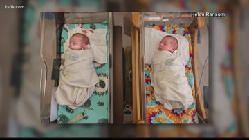 Kansas City hospital caring for 12 sets of twins all born Thanksgiving week