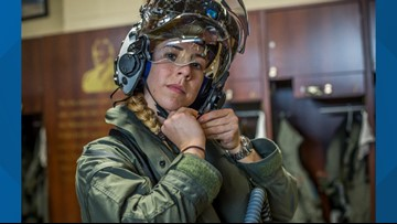 Idaho woman becomes first female F-35B pilot