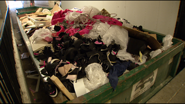 Bra drive organized after hundreds of Victoria's Secret products found in Colorado dumpster