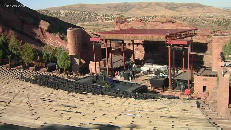 Here's the Red Rocks concert calendar in 2021