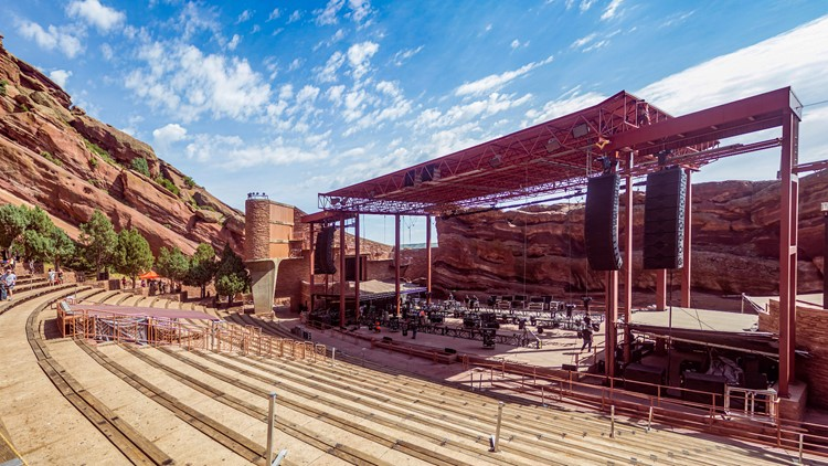 Here's the 2021 Red Rocks lineup so far