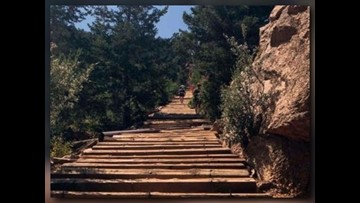 Man pursuing record for hiking notorious Colorado trail
