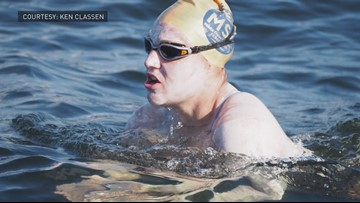 Colorado athlete first to swim English Channel 4 times without stopping