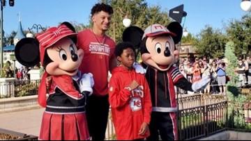 Make-A-Wish kid joins Super Bowl MVP on Disney World trip