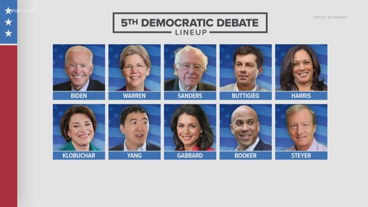 10 candidates have qualified for next Democratic debate
