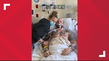 Man nearly loses life to severe case of flu