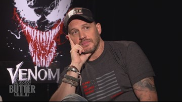 Tom Hardy is Funny: Awkward Venom Interview ' Extra Butter