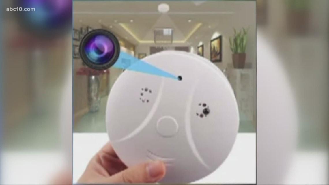 How to spot hidden cameras in vacation rentals, hotel ...