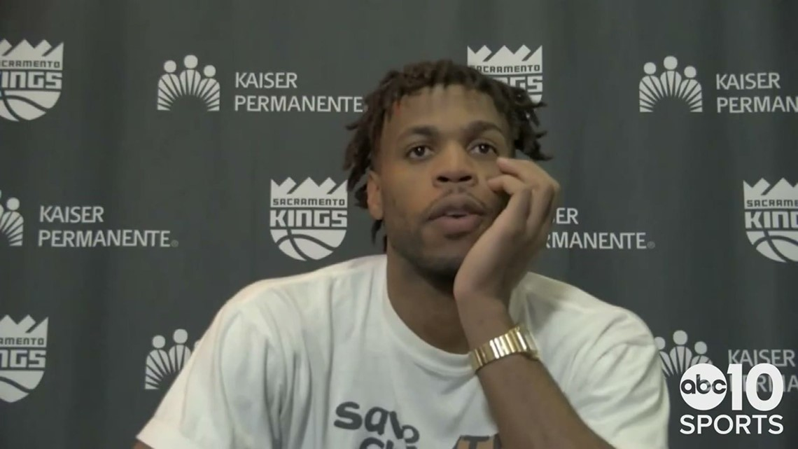 Buddy Hield says little about his Sacramento Kings dropping an 8th straight game in loss to Wizards