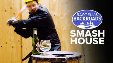 Feeling stressed? Grass Valley 'smash house' might be what you need | Bartell's Backroads